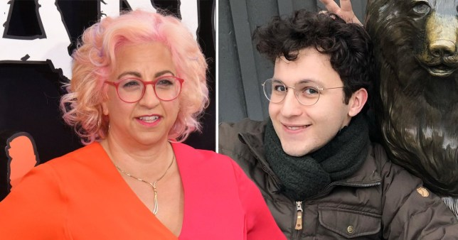 Jenji pays tribute to her son Charlie