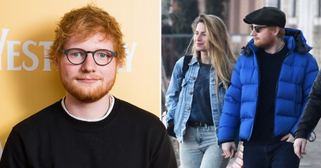 Ed Sheeran and his wife Cherry