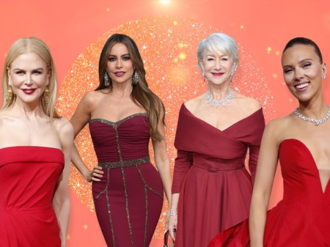 Red was the colour heating up the Golden Globes – and it's about to heat up 2020