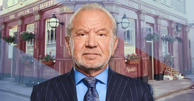 Alan Sugar in EastEnders