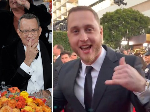 Tom Hanks' son Chet goes viral for the wrong reasons as he speaks Patois at Golden Globes