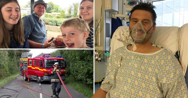 Adam Martin, 41, ended up needing open heart surgery