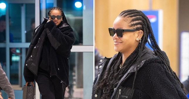 Rihanna in JFK