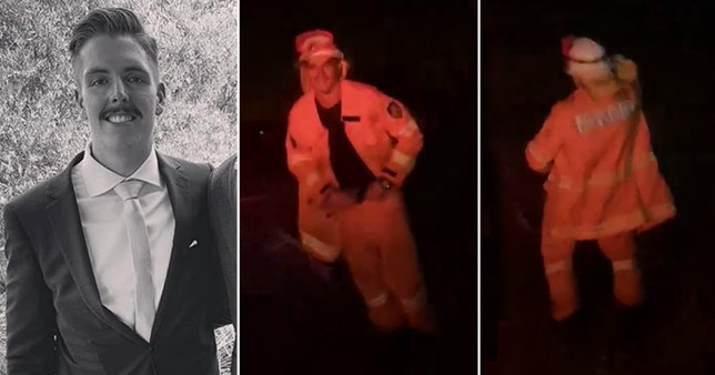 Firefighter dances to boost crew's morale amid raging bushfires