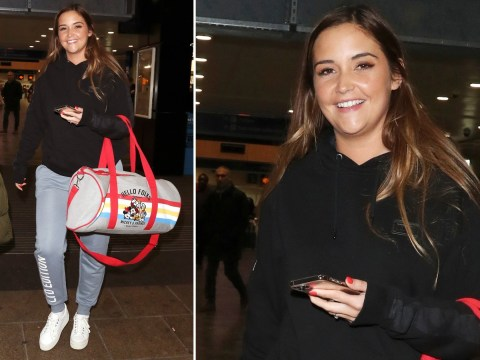 Jacqueline Jossa can't wipe the smile off her face in first sighting after signing 'six-figure' fashion deal
