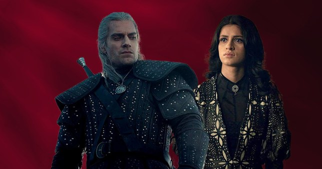 The Witcher's Henry Cavill and Anya Chalotra