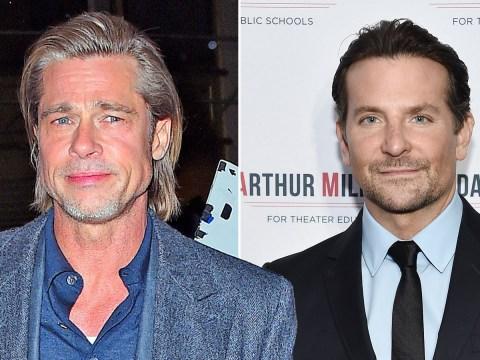 Brad Pitt celebrates Golden Globes triumph with old pal Bradley Cooper after Jennifer Aniston viral moment