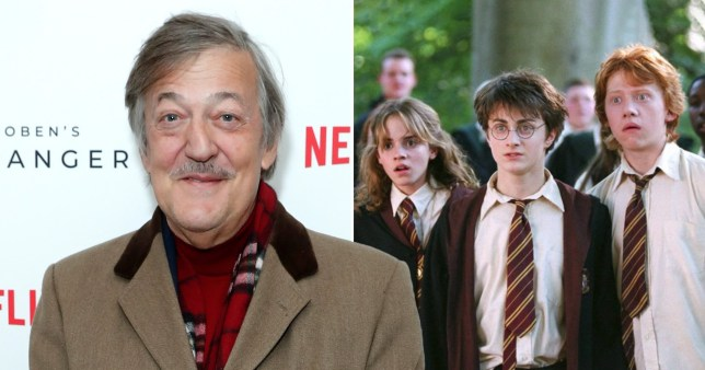 Stephen Fry and Harry Potter