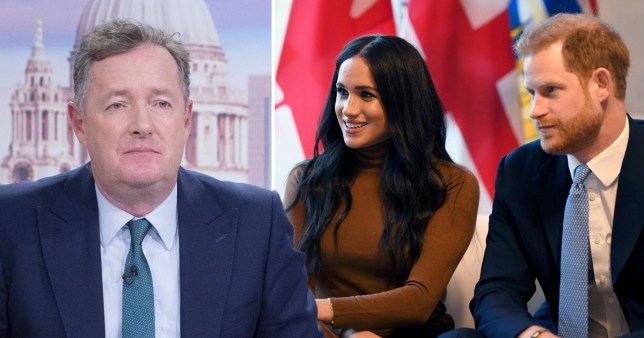 Piers Morgan and Prince Harry and Meghan Markle, The Duke And Duchess Of Sussex