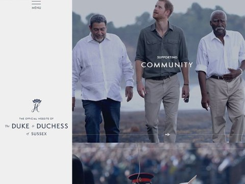 Harry and Meghan launch slick new website after quitting royal family