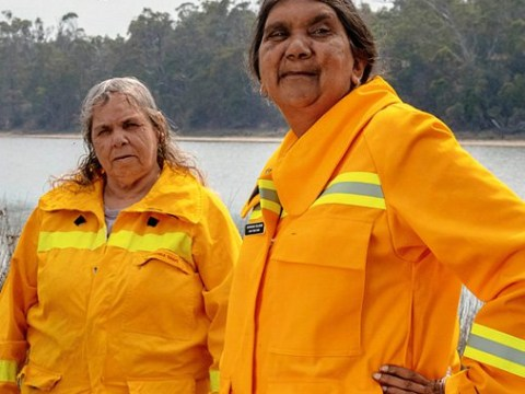 This indigenous all-female fire brigade are fighting Australia's raging wildfires
