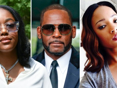 R Kelly's girlfriends Azriel Clary and Joycelyn Savage get into brutal brawl as police are called to apartment