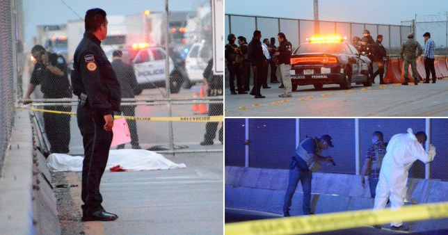 The man is believed to have taken his life on the Pharr-Reynosa bridge