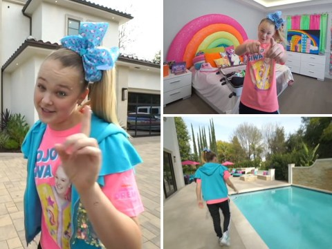 Inside YouTuber JoJo Siwa enormous new home complete with merch store, basketball court, and mannequins