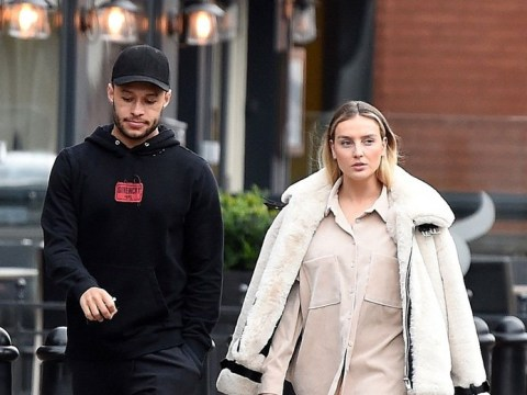 Perrie Edwards and Alex Oxlade-Chamberlain head for food after Little Mix star was 'caught eating on telly'