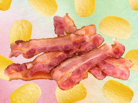 Some rashers of supermarket bacon contain as much salt as eight packets of crisps
