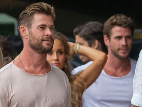 Chris and Liam Hemsworth arrive in Byron Bay for Australian bushfire benefit after $1million donation