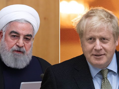 Boris Johnson calls for 'end to hostilities' in phone chat with Iranian president