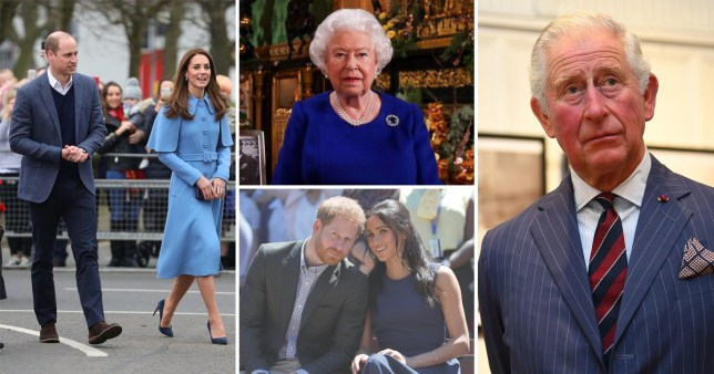 The royal family is working 'at pace' to sort out the crisis (Picture: PA)