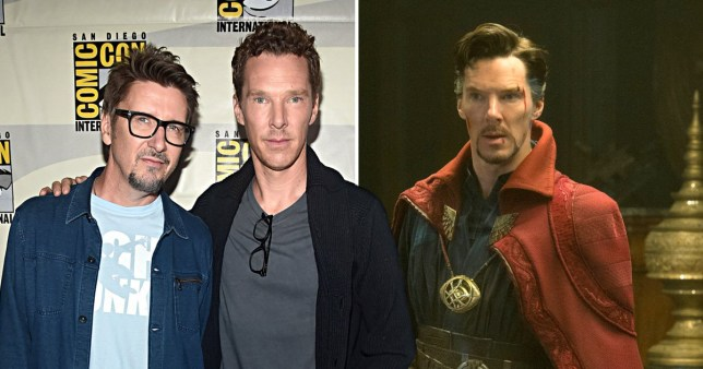 Doctor Strange Scott Derrickson and Benedict Cumberbatch