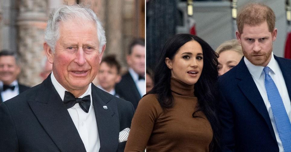Prince Charles, Harry and Meghan