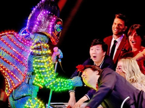 The Masked Singer Chameleon: Could it be love between Rita Ora and the reptile?