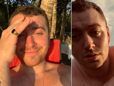 Sam Smith drives fans wild by going bare backside while skinny dipping on holiday
