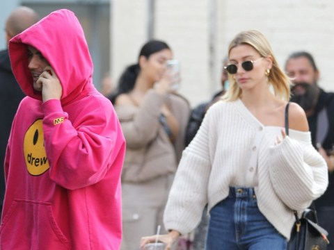 Justin Bieber seen out and about with Hailey Baldwin after confirming Lyme disease battle