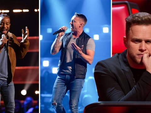 The Voice viewers outraged after judges don't turn twice in blind auditions and Olly Murs looked gutted