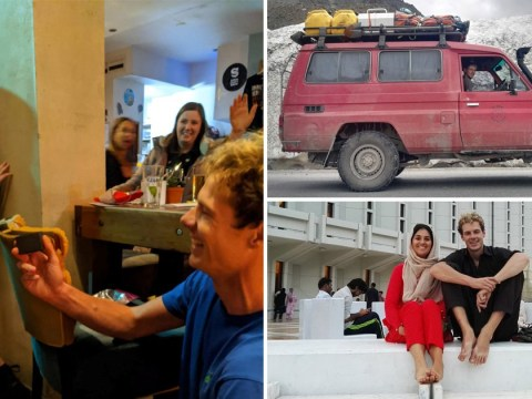 Man proposes after driving his £6k Toyota 40,000 miles from Malaysia to the UK