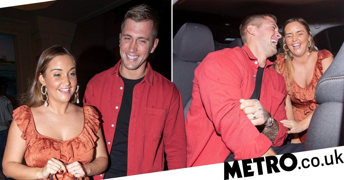 Dan Osborne and Jacqueline Jossa look ridiculously happy on holiday date night
