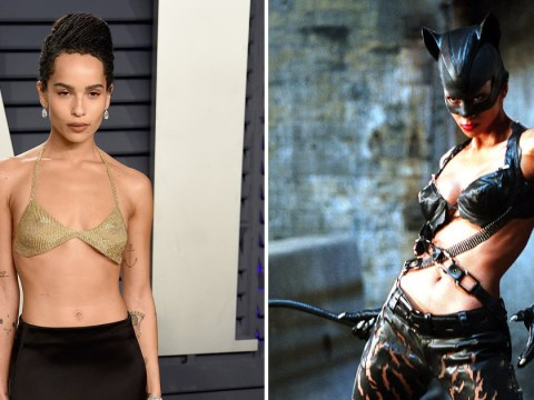Zoe Kravitz teases 'very physical' training for Catwoman role that's left her 'limping'
