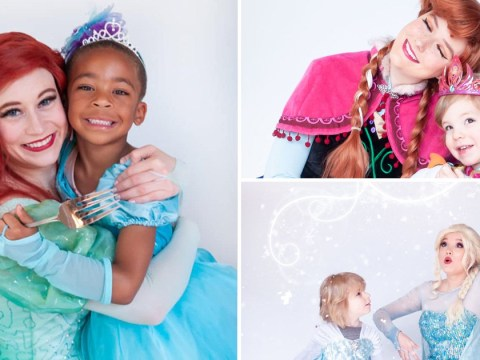 Photo series features little boys wearing fancy dress to show they can be princesses too