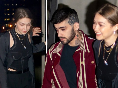 Newly reunited Zayn Malik and Gigi Hadid are love's young dream on dinner date