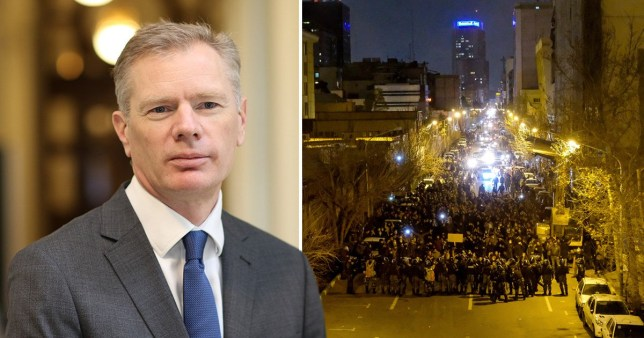 'Unacceptable' arrest of British ambassador