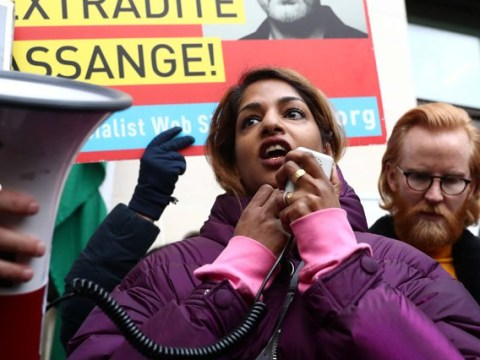 M.I.A. supports Julian Assange as Wikileaks founder appears in London court over US extradition