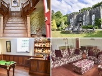 Welsh Castle on sale for less than cost of London studio flat