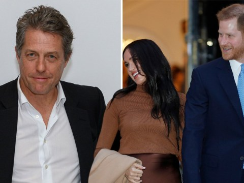 Hugh Grant supports Harry and Meghan in the royal drama: 'It's Harry's job to protect his family'
