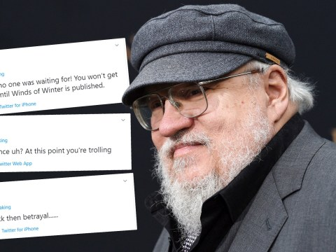 Game of Thrones announcement completely backfires on George RR Martin: 'We don't need this'