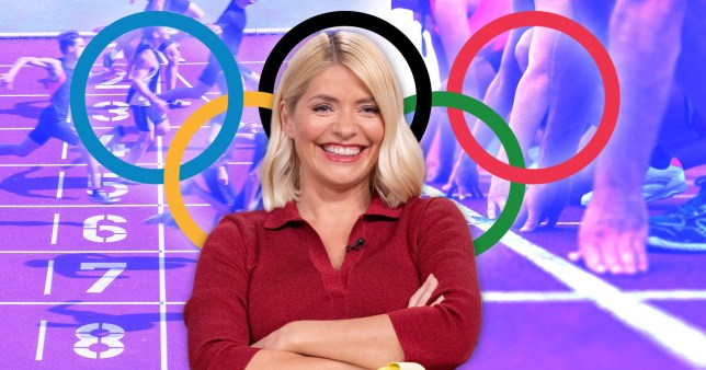 Holly Willoughby Olympic show