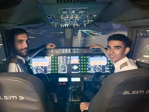Teen, 18, becomes UK's youngest commercial pilot after mum sells home to fund dream