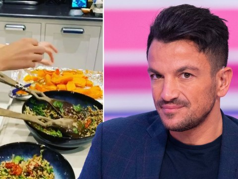 Peter Andre goes vegan as he makes dig at Piers Morgan after Good Morning Britain host's epic rants