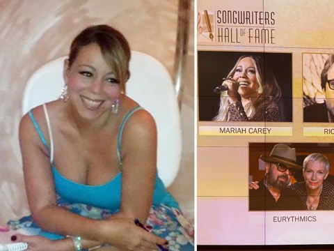 Mariah Carey calls being inducted into the Songwriters Hall of Fame 'the greatest honour'