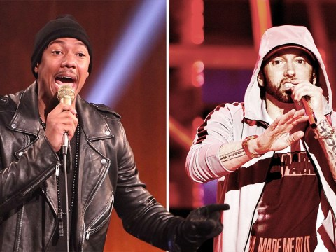 Nick Cannon takes swipe at Eminem's fans in yet another diss track because it's still 2008