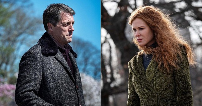 Hugh Grant and Nicole Kidman in HBO's The Undoing