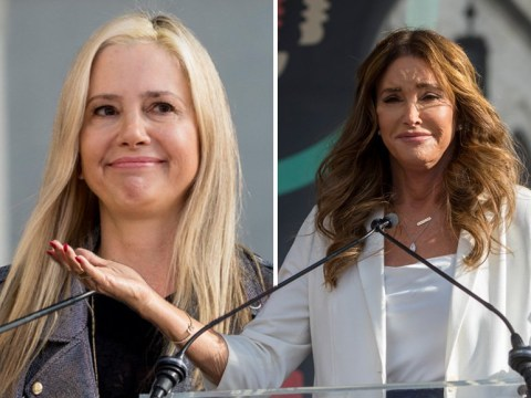 Caitlyn Jenner and Bella Thorne take to the stage at fourth annual Woman's March in LA