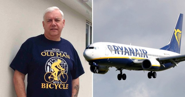 Ryanair have been accused of a total lack of empathy for how they handled Colin Old's ordeal
