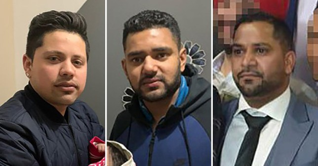 Three men killed in triple stabbing pictured