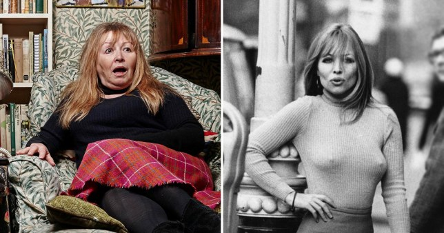 Gogglebox star Mary Killen 'hugely flattered' after fans mistake her for 60s supermodel
