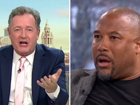 Piers Morgan clashes with John Barnes over 'mocking Chinese people' on Good Morning Britain: 'There's an example of white privilege'